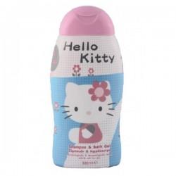 Flacon des Gels douches Choupinet de la gamme Hello Kitty