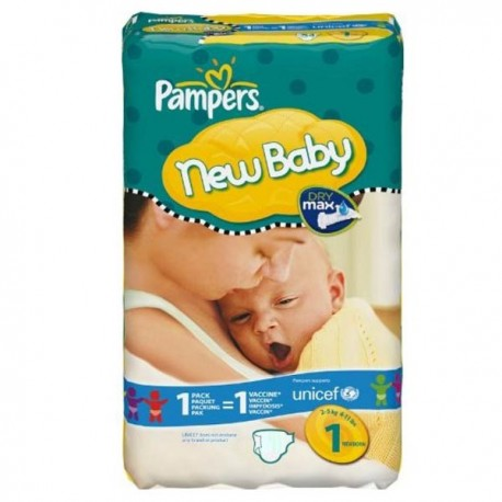 Couches pampers new baby dry taille 1 en promotion 172 - Prix couches pampers new baby taille 1 ...