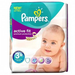 Pack 42 couches Pampers Active Fit