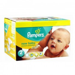 Pack 44 Couches Pampers New Baby taille 2