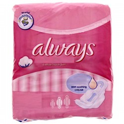 Pack 8 Serviettes hygiéniques Always Ultra Thin Coton de taille Long sur Promo Couches