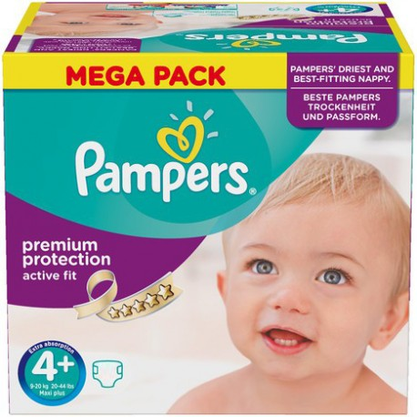 Couches pampers active fit taille 4 en promotion 210 couches sur promo couches - Couches pampers en promo ...
