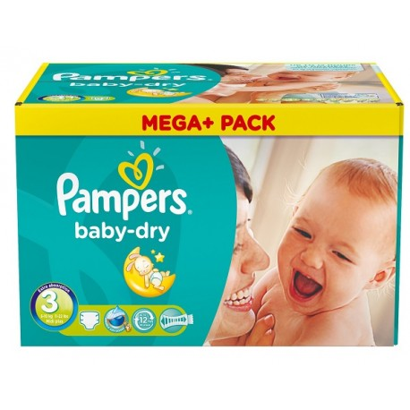 Couches pampers baby dry taille 3 moins cher 272 couches sur promo couches - Couches pampers en promo ...