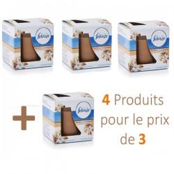 Maxi Pack de 4 Bougies Parfumées Febreze Soothing Sandalwood - 4 au prix de 3 sur Promo Couches