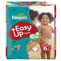 Maxi Pack 114 Couches de la marque Pampers Easy Up de taille 6
