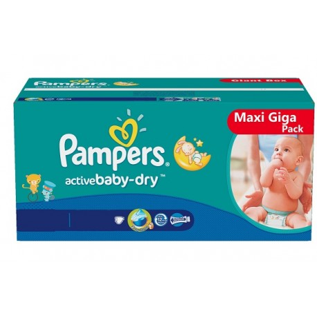 Couches pampers active baby taille 4 moins cher 248 couches sur promo couches - Couches pampers en promo ...