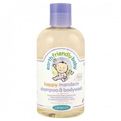 Flacon Gel douche EFB - Earth Friendly Baby Bio Mandarine sur Promo Couches