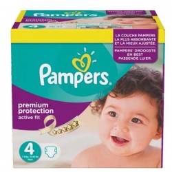 Maxi Giga Pack 273 couches Pampers Active Fit