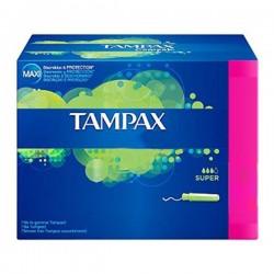 Pack 20 Tampons Tampax de la gamme Classique taille SuperavecApplicat sur Promo Couches