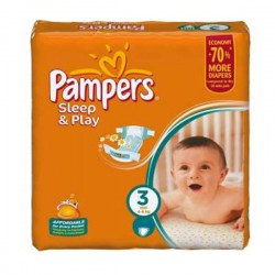 Mega Pack 300 couches Pampers Sleep & Play