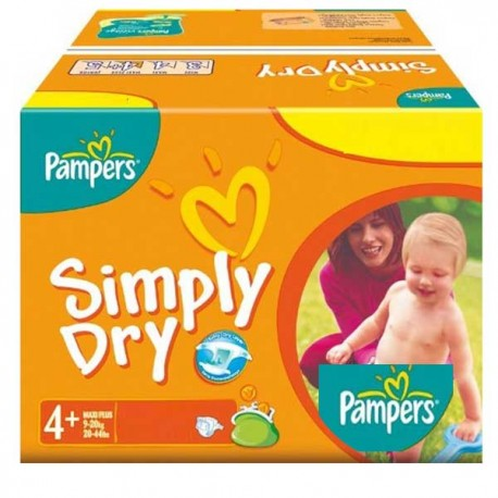 Couches pampers simply dry taille 4 moins cher 44 couches sur promo couches - Couches pampers en promo ...