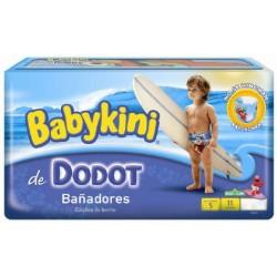 Pack d'une quantité de 11 Couches de bains Dodot de la gamme Maillot de bain taille 5