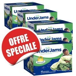 Maxi giga pack d'une quantité de 315 Sous-vêtements jetables Pampers Underjams - pour Garçons taille L/XL sur Promo Couches