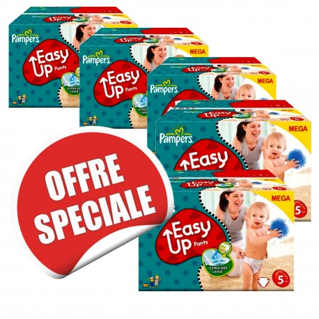 Couches pampers easy up taille 5 en promotion 912 couches sur promo couches - Couches pampers en promo ...