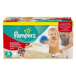 Giga Pack 152 couches Pampers Easy Up