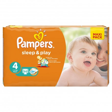 Couches pampers sleep play taille 4 pas cher 50 couches sur promo couches - Couches pampers en promo ...