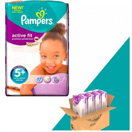 348 couches pampers active fit taille 5 en promotion sur - Achat couches pampers en gros pas cher ...