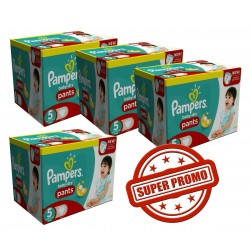 Giga Pack 264 Couches Pampers Baby Dry Pants 5 sur Promo Couches