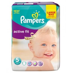 Pack 23 Couches Pampers Active Fit taille 5 sur Promo Couches