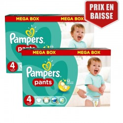 Maxi Pack 282 Couches Pampers Baby Dry Pants taille 4