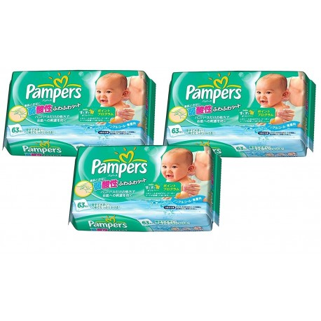 189 lingettes b b pampers fresh clean sur promo couches - Couches pampers en promo ...