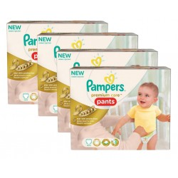 Maxi Giga Pack 224 Couches Pampers Premium Care Pants taille 3 sur Promo Couches