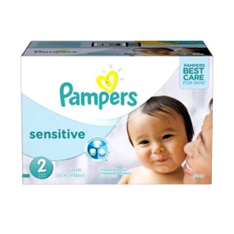 Giga Pack 360 Couches Pampers New Baby Sensitive taille 2 sur Promo Couches