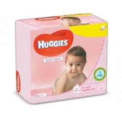 560 Lingettes Bébés Huggies Soft Skin sur Promo Couches