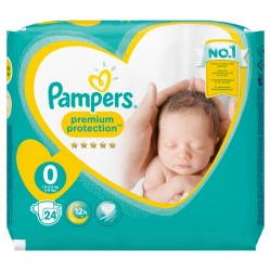 Pack 24 Couches Pampers New Baby taille 0 sur Promo Couches