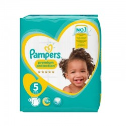 Pack 60 Couches Pampers New Baby taille 5 sur Promo Couches