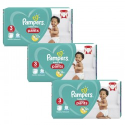 Maxi Pack 240 Couches Pampers Baby Dry Pants taille 3