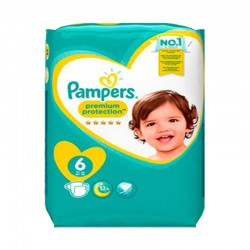 Pack 56 Couches Pampers New Baby - Premium Protection taille 6 sur Promo Couches