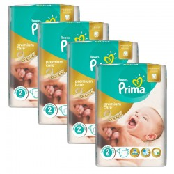 Giga Pack 110 Couches Pampers Premium Care - Prima taille 2 sur Promo Couches