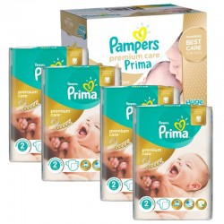 Maxi Giga Pack 440 Couches Pampers Premium Care - Prima taille 2 sur Promo Couches