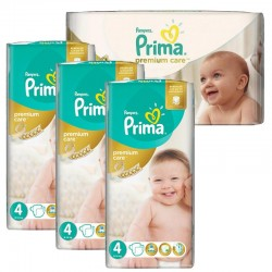 Giga Pack 240 Couches Pampers Premium Care - Prima taille 4