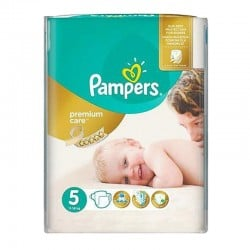 Pack 26 Couches Pampers Premium Care - Prima taille 5 sur Promo Couches
