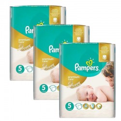 Giga Pack 208 Couches Pampers Premium Care - Prima taille 5