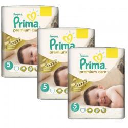 Maxi Giga Pack 378 Couches Pampers Premium Care - Prima taille 5