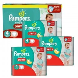 Maxi Pack 376 Couches Pampers Baby Dry Pants taille 5 sur Promo Couches