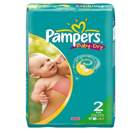 Couches pampers baby dry taille 2 bas prix 41 couches - Prix couches pampers baby dry taille 2 ...