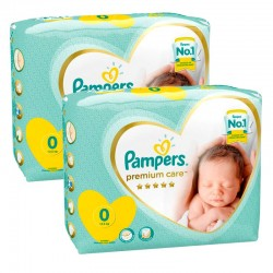 Pack 60 Couches New Baby Premium Care sur Promo Couches