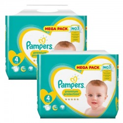 Pack 164 Couches Pampers New Baby Premium Protection sur Promo Couches