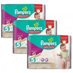 Mega Pack 120 Couches Pampers Active Fit Pants taille 5