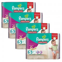 Mega Pack 160 Couches Pampers Active Fit Pants taille 5