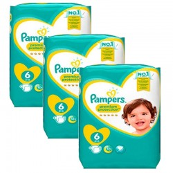 Maxi Pack 148 couches Pampers New Baby Premium Protection sur Promo Couches