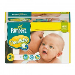 Pack 288 Couches Pampers New Baby Dry taille 2