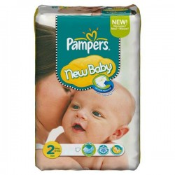 Pack 56 couches Pampers New Baby
