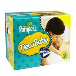 Giga pack 217 Couches Pampers New Baby Premium Protection taille 2 sur Promo Couches
