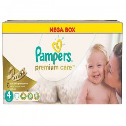 Maxi Giga Pack 240 couches Pampers Premium Care